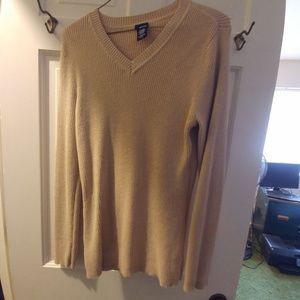 Basic Editions Tops - Tan Sweater